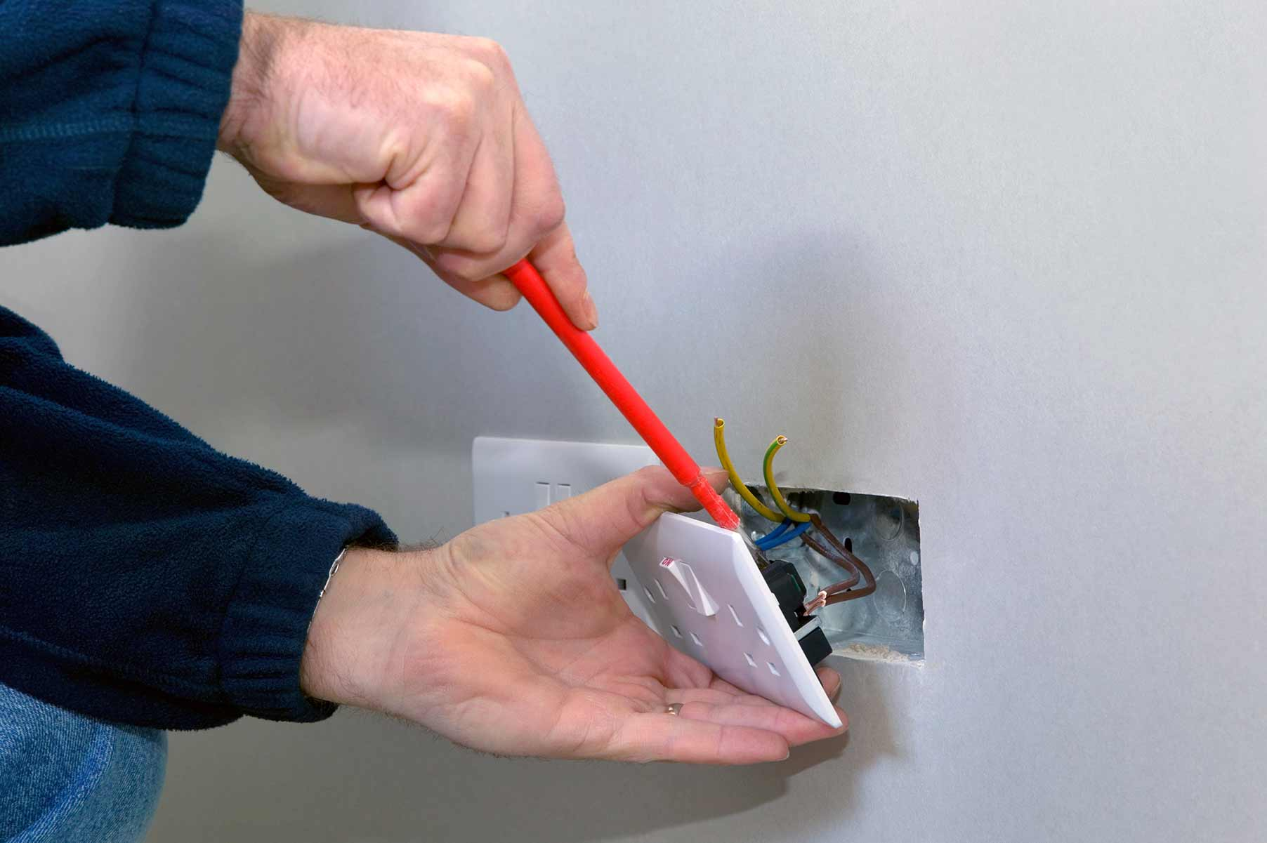 Our electricians can install plug sockets for domestic and commercial proeprties in Westbourne and the local area.